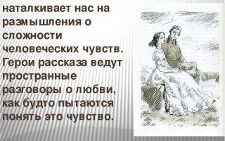 Размышление о рассказе чехова «о любви»