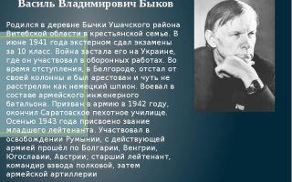 Героизм сотникова в одноименной повести в. быкова