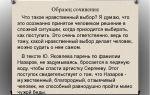 Сочинение 15.3 «что такое нравственный выбор» по тексту железнякова