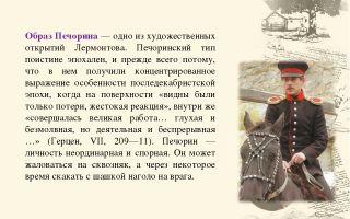 Образ печорина в романе «герой нашего времени»