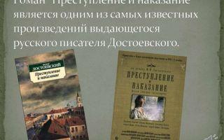 Любимые страницы в романе «преступление и наказание»