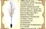 Краткое содержание пьесы «вишневый сад» по действиям