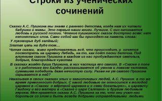 Сочинение: любите пушкина