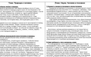 Проблемы и аргументы к сочинению на егэ по русскому языку на тему: экология