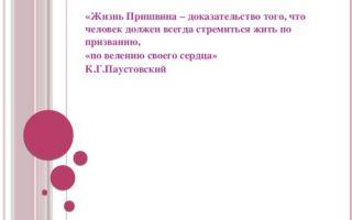 Человек должен всегда стремится жить по призванию (по тексту паустовского)