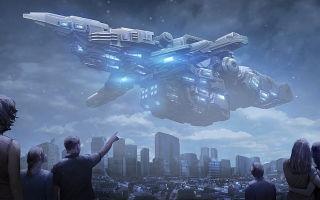 Книжная фантастика про космос и инопланетян