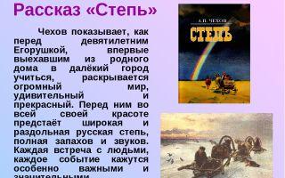 Кратчайшее содержание повести «степь» для читательского дневника (а. п. чехов)