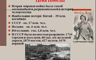 Сочинение на тему: великая победа ссср во второй мировой войне