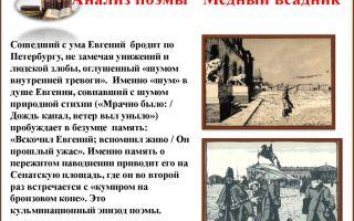 Краткое содержание поэмы «медный всадник» по главам и частям (а. с. пушкин)