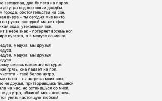 Смысл песни «медуза» (matrang)