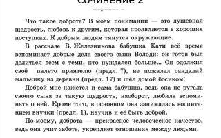 Сочинение 15.3 «что такое доброта» по тексту драгунского