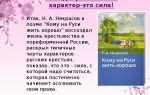 Крестьянская доля в поэме «кому на руси жить хорошо»