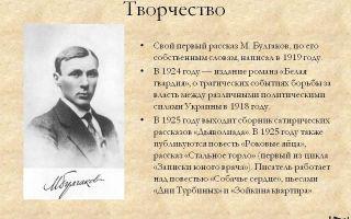 Полная биография булгакова: жизнь и творчество
