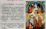 Кратчайшее содержание поэмы «руслан и людмила» для читательского дневника (а.с. пушкин)