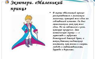 Кратчайшее содержание «маленького принца» для читательского дневника (антуан де сент-экзюпери)