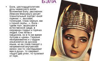 Образ бэлы в романе «герой нашего времени»