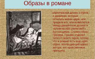 Женские образы в романе «капитанская дочка» (а. с. пушкин)