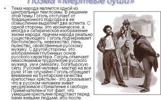 Образ руси в поэме «мёртвые души» (н. в. гоголь)