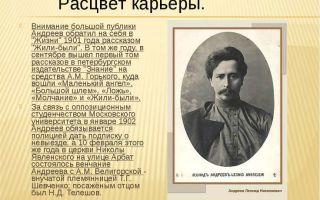 Леонид андреев: биография и творчество