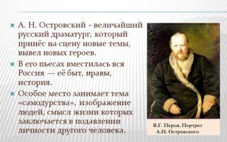Краткая биография а. н. островского: жизнь и творчество великого драматурга