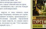 Анализ произведения «первая любовь» (и.с. тургенев)
