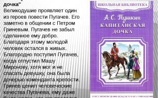 Аргументы на тему: месть и великодушие в повести «капитанская дочка»