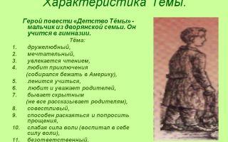 Главные герои и их характеристика в повести «детство» (л. толстой)