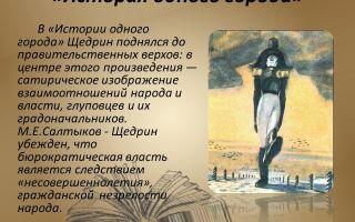 Анализ произведения «история одного города», салтыков щедрин