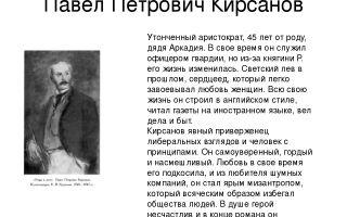 Образ павла петровича кирсанова в романе «отцы и дети» (и. с. тургенев)