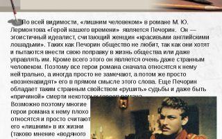 Сочинение: окружение печорина в романе «герой нашего времени» (м. ю. лермонтов)