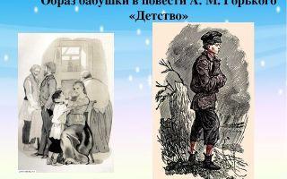 Образ алеши в повести «детство» (м. горький)